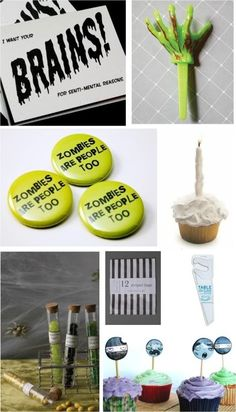 Zombie themed party ideas