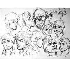 #hannibal #willgraham #art #sketch