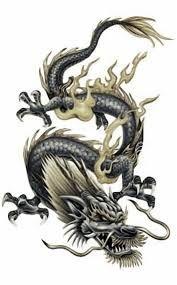 Resultado de imagem para samurai dragon tattoo