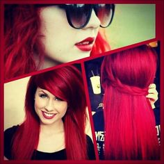 I really wish I were brave enough for this color!