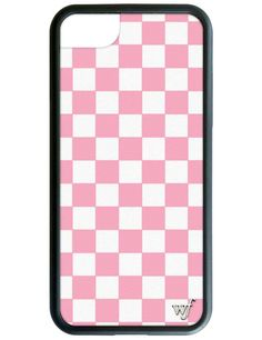Pink Checkers iPhone 7 Case – Wildflower Cases
