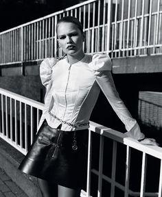 Anna Ewers by Alasdair Mclellan for Vogue UK