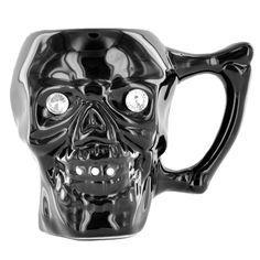 Tasse tete de mort - Mug avec tete de mort en relief