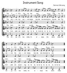 Beth's Music Notes: 2 Fun Instrument/Orchestra Songs