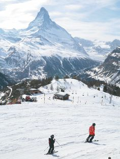 Matterhorn, view from Suneggav ski Resort