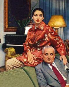 Maria Callas and Gio