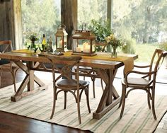 Love the look of this table, just wish it could expand and that it was a harder wood
