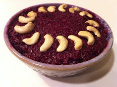 Beetroot Halva - Flat Footed Foodies