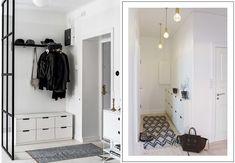 3 tips til, hvordan du indretter en lille entré Hemnes, Extra Storage Space, Storage Spaces, Hygge, Pantone, Ikea Hallway, Entryway, Art Deco, Ikea Pax