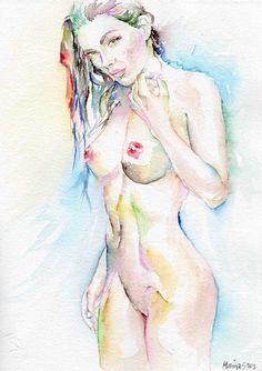 What Art work th teen nude