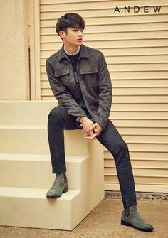 170822 #MINHO & Model Kim Seolhee - Andew F/W Photoshoot Released