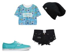 """Untitled #33"" by x5sauceloverx on Polyvore featuring WithChic and Vans"