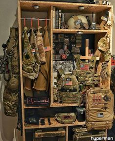 Airsoft hub is a social network that connects people with a passion for airsoft. Talk about the latest airsoft guns, tactical gear or simply share with others on this network Tactical Wall, Tactical Life, Tactical Gear, Airsoft Storage, Weapon Storage, Gun Storage, Storage Room, Storage Ideas, Ar15
