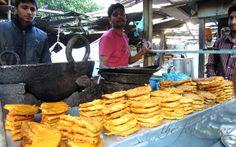 On a street food mission in Amritsa, India - pakora