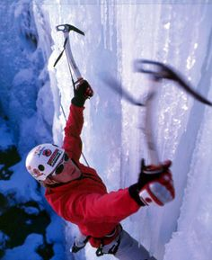 It's supposed to be 102 degrees here tomorrow...ice climbing looks really good right now!