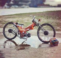 海外の Cub Chopper② coolですね。