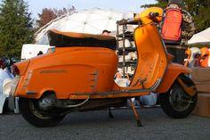 Lambretta SX150 ...orange, original paint.