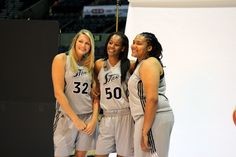 Caught some Silver Stars posin' for Media Day...