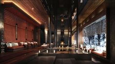 Year round, our Swiss alpine environment enhances the restorative powers of The Chedi Andermatt's 2,400 square metre spa and wellness centre...