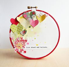 Inspiration in a hoop.