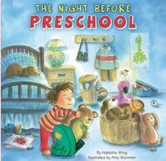 Back to school book the night before pre school 300x290 Back to School Check List  Back to School Ideas