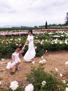 Our Trip To The Peony Farm...