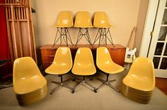 Eames chairs for days... @eBay #followitfindit
