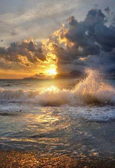 .. when sorrows like sea billows roll... it is well, it is well, with my soul....
