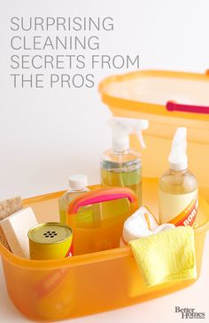 Use these pro cleaning secrets to take your home from dingy to dazzling: http://www.bhg.com/homekeeping/house-cleaning/tips/cleaning-secrets/?socsrc=bhgpin031714procleaning