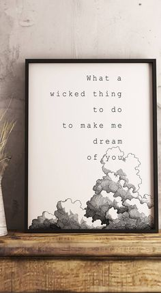 Wicked Game Chris Isaak 80s Hit Music Lyrics Poster