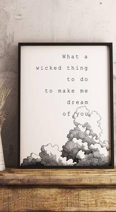 Wicked Game Chris Isaak 80s Hit Music Lyrics Poster