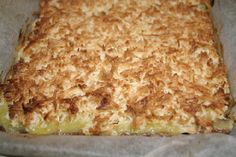Lemon Coconut Slice - A Pinch of Health - Australian Low Carb Forum