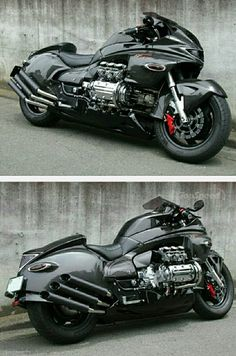 Dragon King Valkyrie from Whitehouse of Japan Concept Motorcycles, Honda Motorcycles, Vintage Motorcycles, Custom Motorcycles, Custom Bikes, Cars And Motorcycles, Viking Warrior Tattoos, Tron Light Cycle, Honda Valkyrie