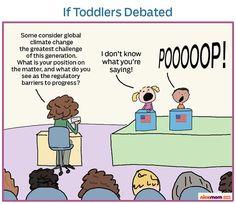 If toddlers debated