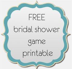 bridal shower game free printable by ooh la love events