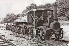 New Model Projects Steam Tractor, Rail Transport, Steam Railway, Rail Car, Train Engines, Great Western, Steam Engine, Steam Locomotive, Model Trains