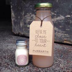 Kefir me close to your heart   #kefir #probiotic #purearth