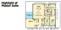 His and hers master bathroom floor plans master bedroom for His and hers bathroom floor plans