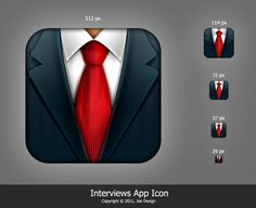 Interviews app icon by Joekirei