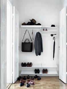 String System -kenkähylly, valkoinen, 78 x 30 cm Bedroom Storage, Diy Storage, Storage Spaces, Modular Storage, Hidden Storage, Shoe Storage, Diy Bedroom, Storage Ideas, Shoe Shelves