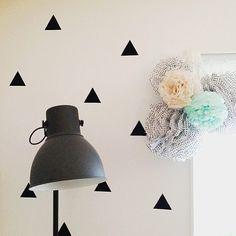 Åhh, vad fint! ❤ Dagens DIY-tips kommer från @charlottewangstedtfoto Pompoms gjorda av vårt prickiga silkespapper(vi har fler mönster+ enfärgat i butik.)