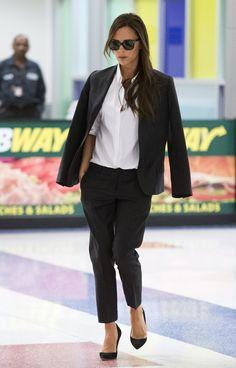 Le look de Victoria Beckham