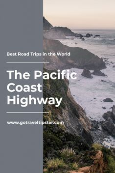 Things to do on the Pacific Coast Highway – from San Francisco to San Diego. Usa Travel Guide, Travel Usa, Travel Tips, Travel Advice, Travel Guides, California Beach, California Travel, Places To Travel, Travel Destinations