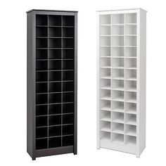 Details about Shoe Storage Cabinet Cubby Storage Rack Tall Narrow Space-Saving 36 Pairs Wood Closet Shoe Storage, Cubby Storage, Shoe Storage Cabinet, Diy Storage, Shoe Racks, Storage For Shoes, Bedroom Closet Design, Closet Designs, Desktop Storage