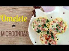 Omelete en Microondas | CozinhandoRapido Carne, Mayonnaise Recipe, Homemade Food, Food Items, Cook