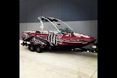 MB Sport wakeboard boat.