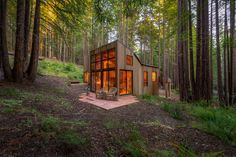 Wooden Cabin, Tiny House Movement, Sustainable Living.