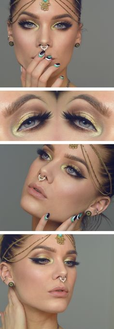 Todays look Romantic eye