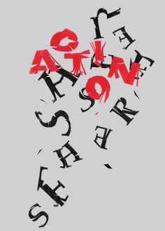 Expressive Typography Posters Series Two by Simon Dunbar, via Behance