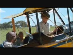 """Maybe the most beautiful scene in any movie I have watched: flying over Africa from """"Out of Africa"""""""